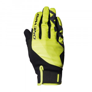 One Way XC Race Glove - yellow