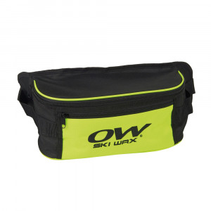 One Way Waist Bag Ski Wax - yellow
