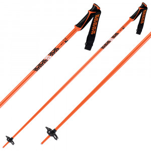 K2 Freeride 18 Poles - orange
