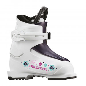 Salomon T1 Girly Junior - white/rose violet 19/20