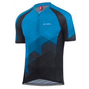 L�ffler Bike Jersey FZ Aero - brillant blue