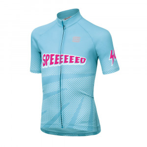 Sportful Super Girl Jersey Kids - light blue