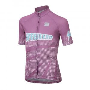 Sportful Super Girl Jersey Kids - violet