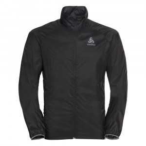 Odlo Zeroweight Dual Dry Running Jacket - black