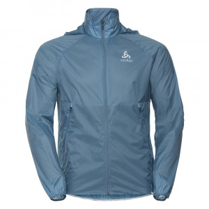 Odlo Zeroweight Dual Dry Running Jacket - china blue