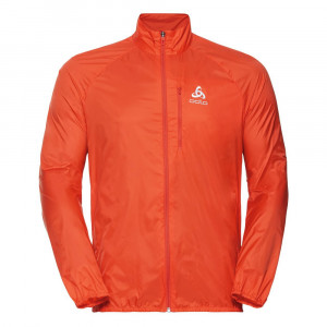Odlo Zeroweight Running Jacket - mandarin red