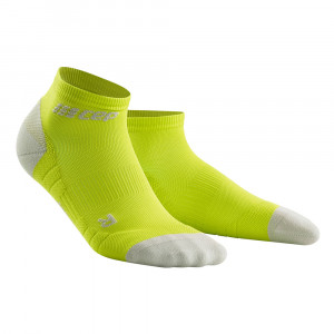 CEP Compression Low Cut Socks 3.0 - lime/light grey