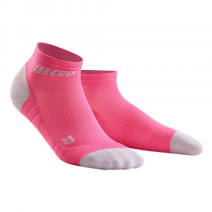 CEP Compression Low Cut Socks 3.0 Women - rose/light grey