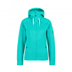 Mammut Arctic Midlayer Hooded Jacket Women - ceramic melange