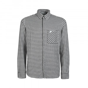 Mammut Winter Longsleeve Shirt - bright white/black