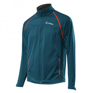 L�ffler Zip-Off Jacket WS Softshell Light - teal