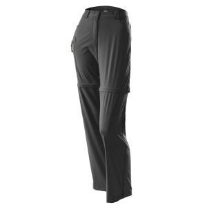 L�ffler Trekking Zip-Off Hose Women long graphit