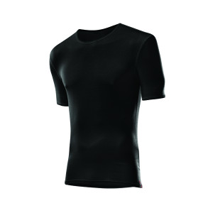 L�ffler Hr. Shirt Transtex Light KA - schwarz