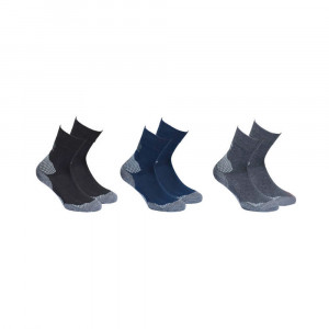 High Colorado Outdoor Hiking Socks 3 Pack Kids - black/navy/anthracite