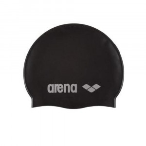 Arena Swimming Cap Classic black-silver