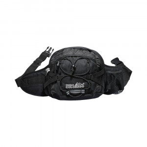 High Colorado Hip Bag Nordic - black
