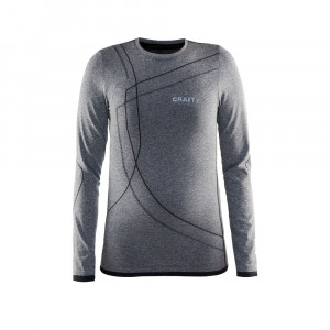 Craft Active Comfort LS Junior - black
