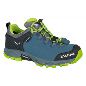 Salewa Mountain Trainer WP Junior - dark denim/cactus