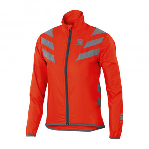 SPORTFUL KID REFLEX JACKET - FIRE RED