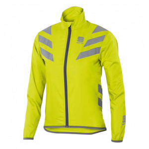 SPORTFUL KID REFLEX JACKET - YELLOW FLUO