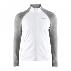 Craft Urban Run Fuseknit Jacket Women - white/grey