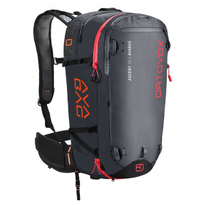 Ortovox Ascent 38 S Avabag Kit - black anthracite