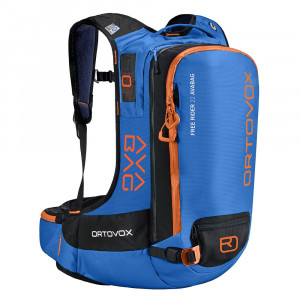 Ortovox Free Rider 22 Avabag Kit - safety blue