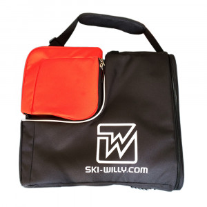 Ski-Willy Cube - black/red