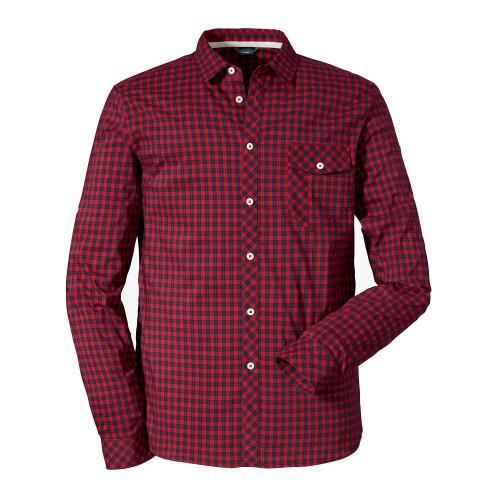 Schöffel Shirt Miesbach 4 LG - goje berry