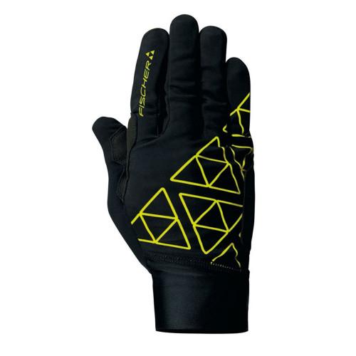 Fischer XC Racing Pro Light Glove - black/yellow