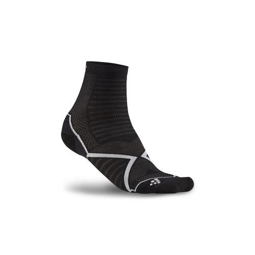 Craft Run Warm Sock - black/white