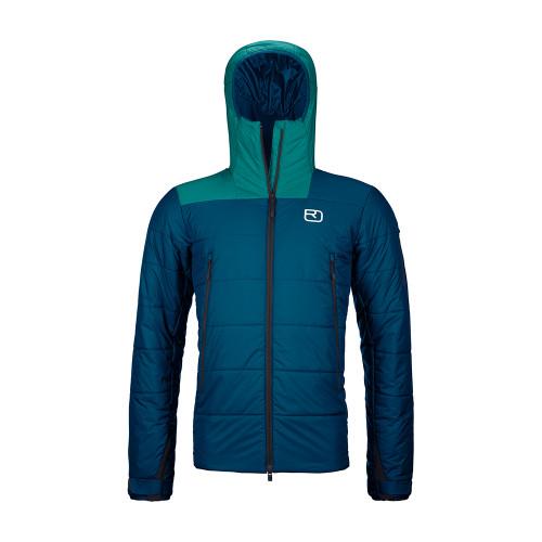 Ortovox Swisswool Zinal Jacket Men - petrol blue