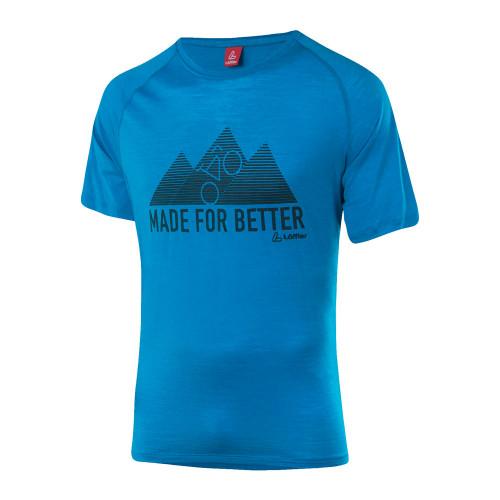 Löffler T-Shirt Merino Tencel