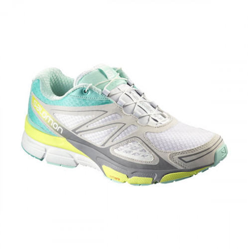 Salomon x scream 3d trail running shoes whitebubble blue
