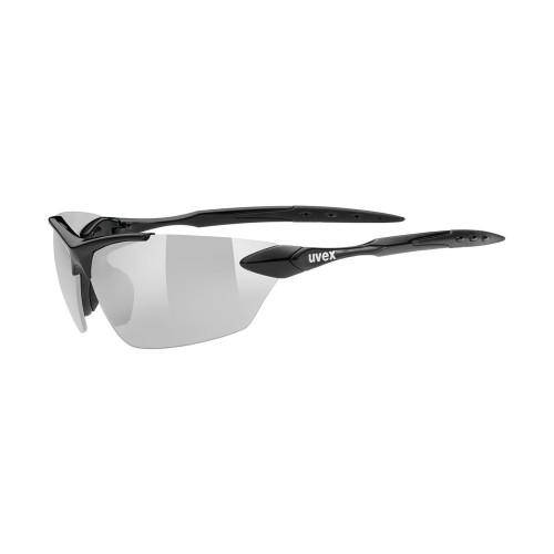 Uvex Sportstyle 203 - black / ltm. silver