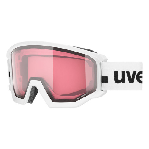 Uvex Athletic V white dl/vario-clear