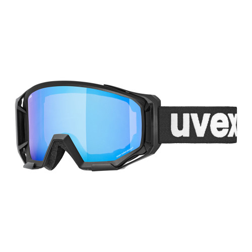 Uvex Athletic CV black mat SL/blue-green