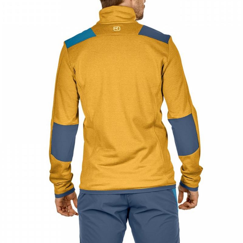 Ortovox Fleece Light Grid Jacket SKI WILLY.COM
