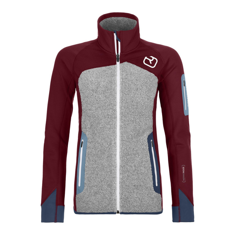 Ortovox Fleece Plus Jacket Women SKI WILLY.COM
