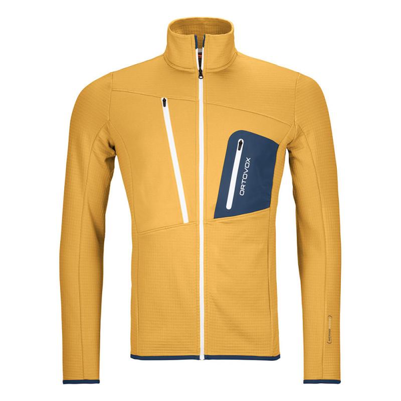 Ortovox Fleece Grid Jacket SKI WILLY.COM