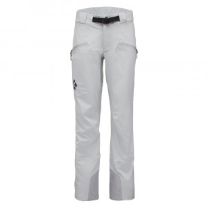 Black Diamond Recon Stretch Ski Pants Women - aluminum
