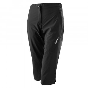Löffler 3/4 Bike Comfort Pants Women - black