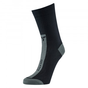 Silvini Allaro Bike Socks - black/charcoal