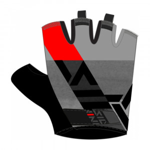 Silvini Anapo Bike Gloves - charcoal/red