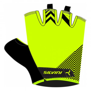 Silvini Albano Bike Gloves Women - neon/black