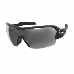 Scott Spur Sunglasses - black matt/grey/clear
