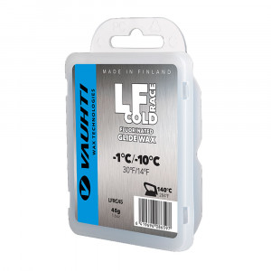 Vauhti LF Race Flourinated Glide Wax Cold - 45