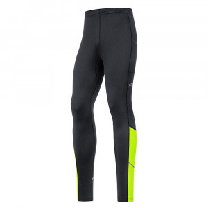 Gore Wear R3 Thermo Tights - black/neon yellow