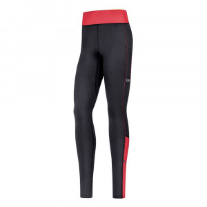 Gore Wear R3 Women Thermo Tights - black/hibiscus pink