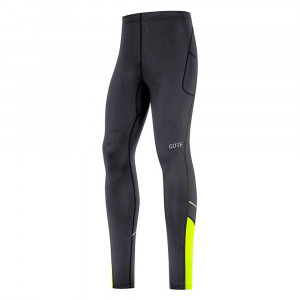 Gore Wear R3 Mid Tights - black/neon yellow